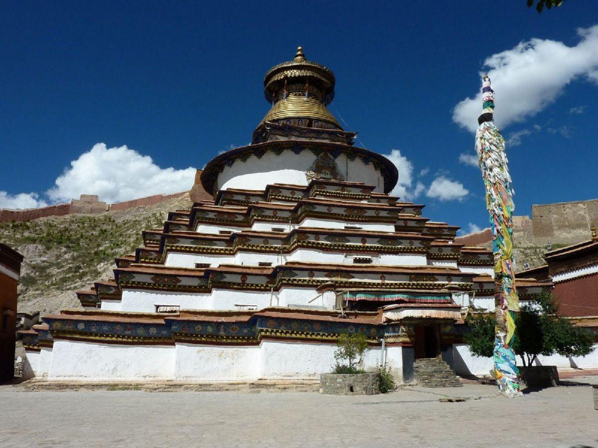 Kunbum Stupa in Palcho Monastery, Gyantse