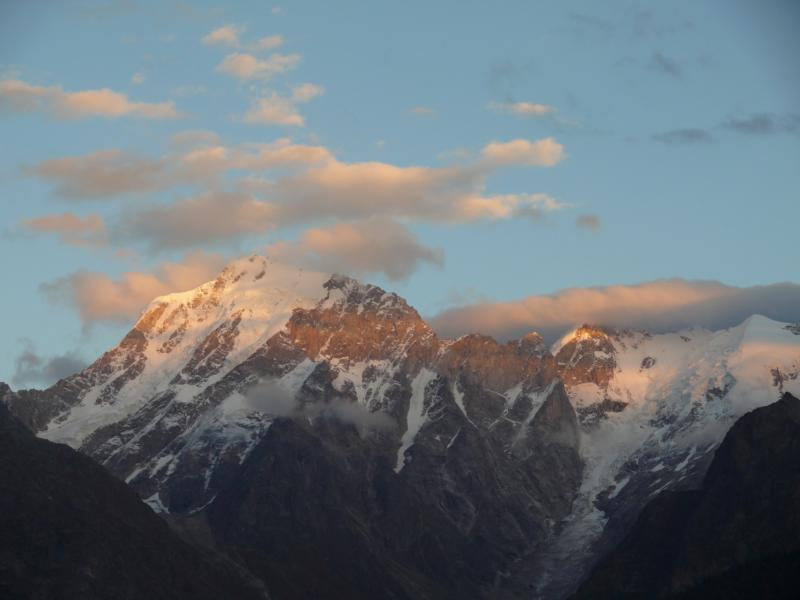 Kailash at Sunset from Kinnaur