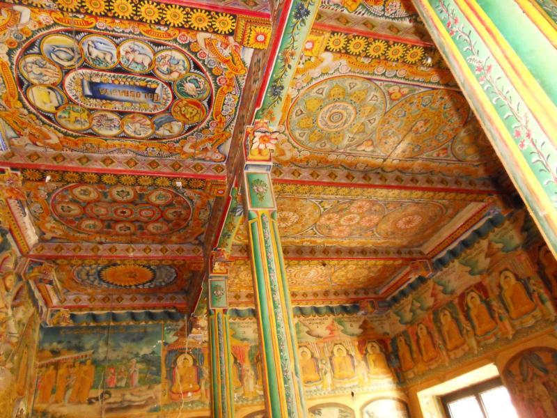 Ceiling Galapata Vihara Bentota