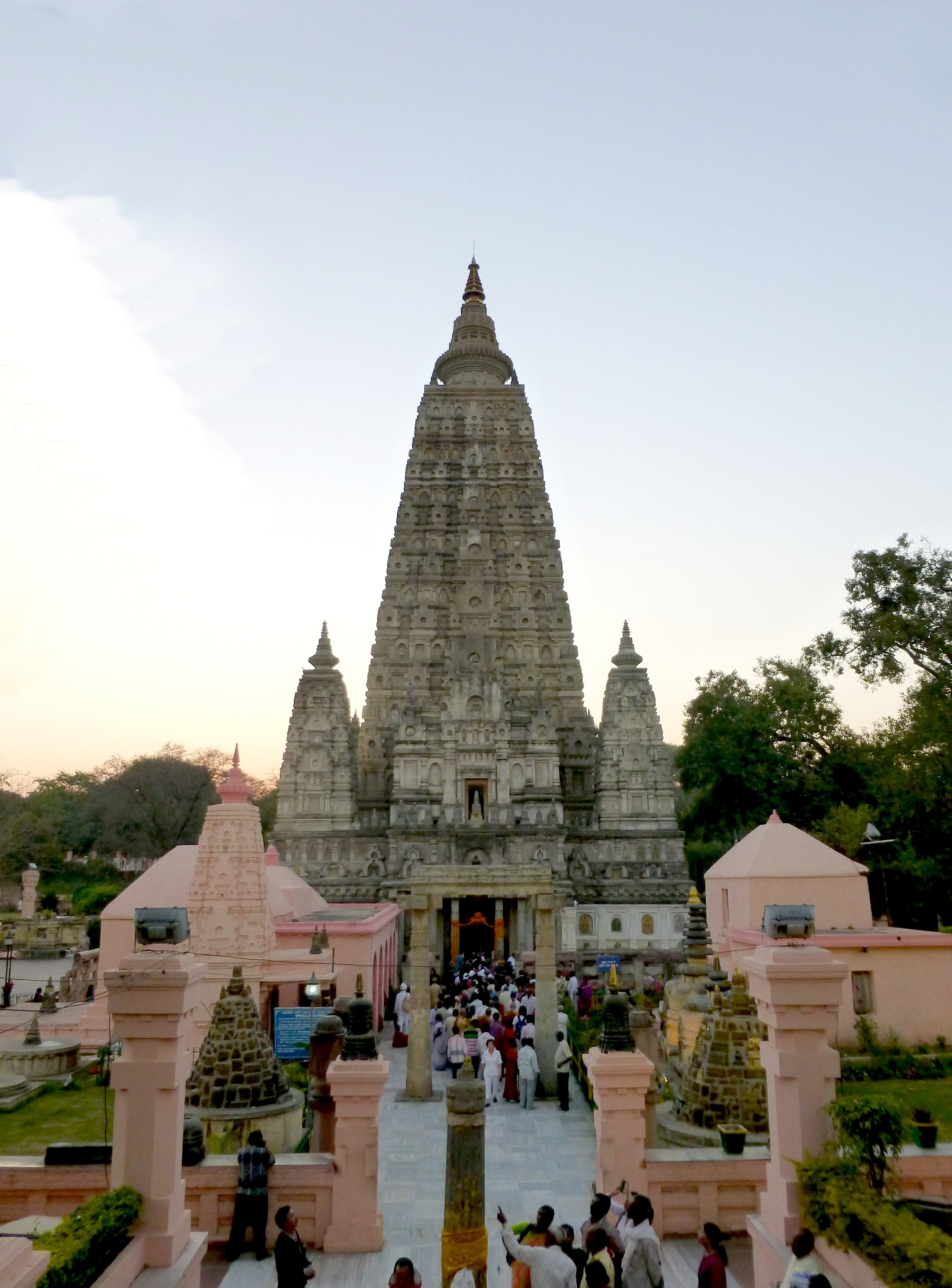 mahabodhi temple This is a model of the mahabodhi temple, the holiest of buddhist pilgrim sites  the temple marks the place where the historical buddha gautama attained.