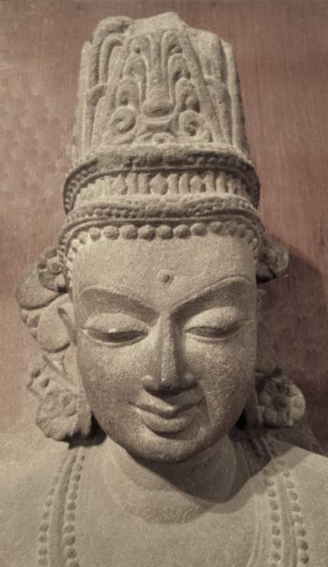 Crowned Buddha, 5c, Sarnath