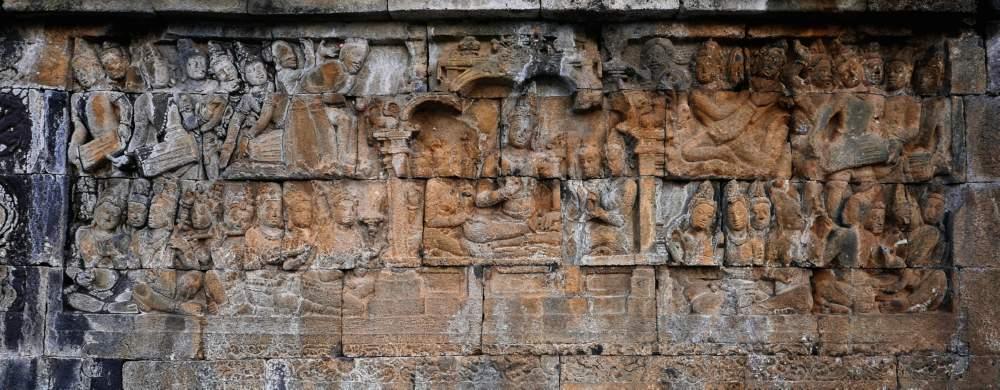 The Bodhisattva in the Tuṣita-heaven