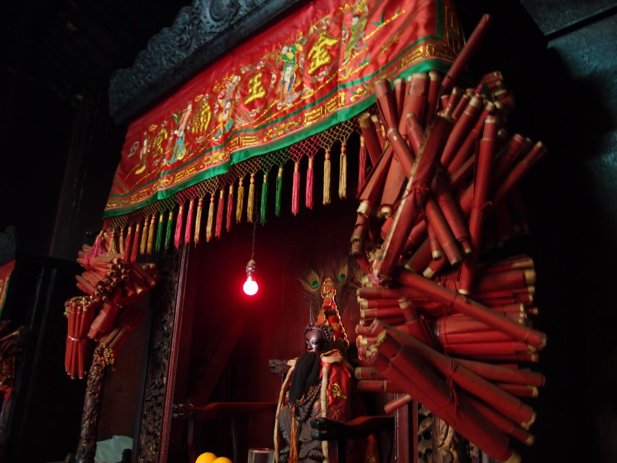 Shrine from Side