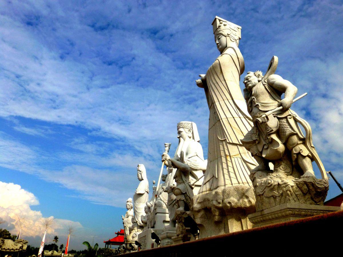 Panorama of the Gods and Bodhisattvas