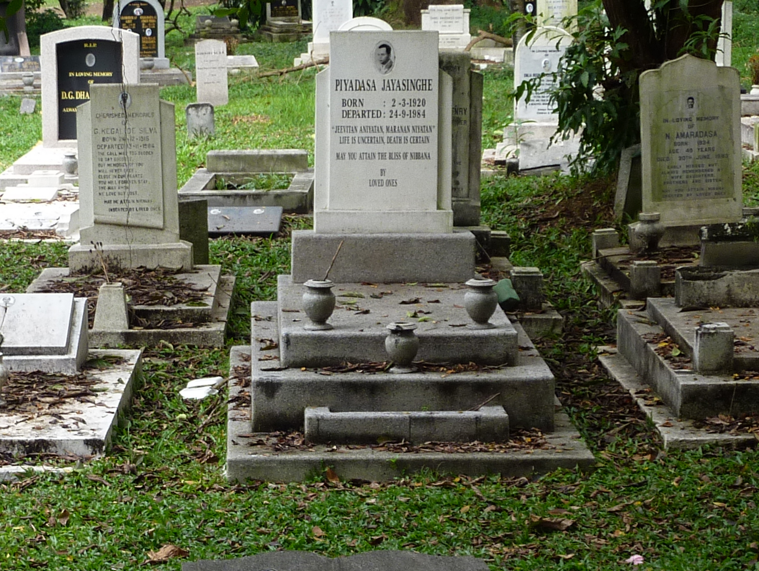 sinhalese cemetery in kuala lumpur