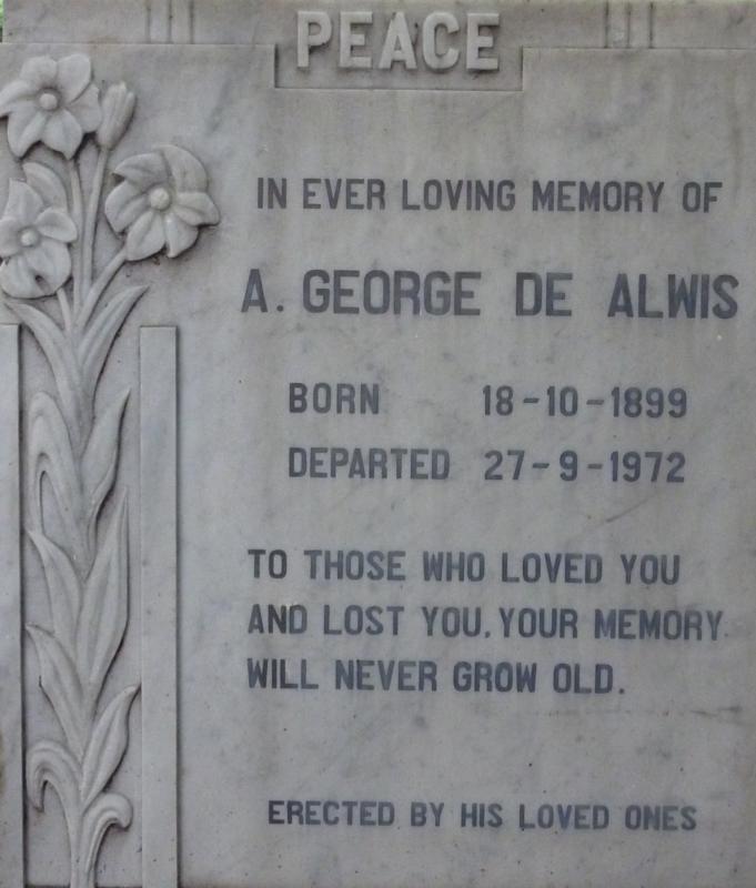 A George de Alwis