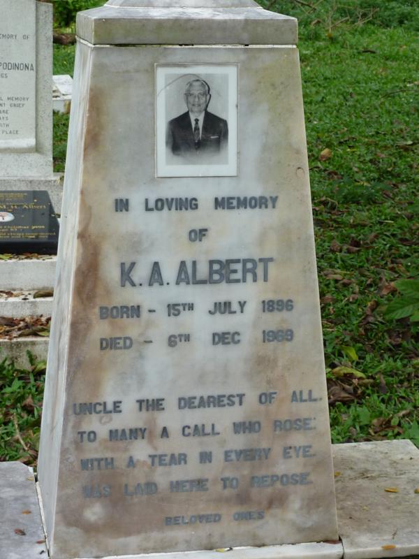 K A Albert