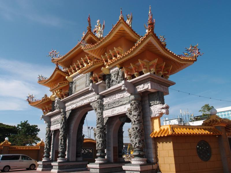 Outer Gate of the Temple