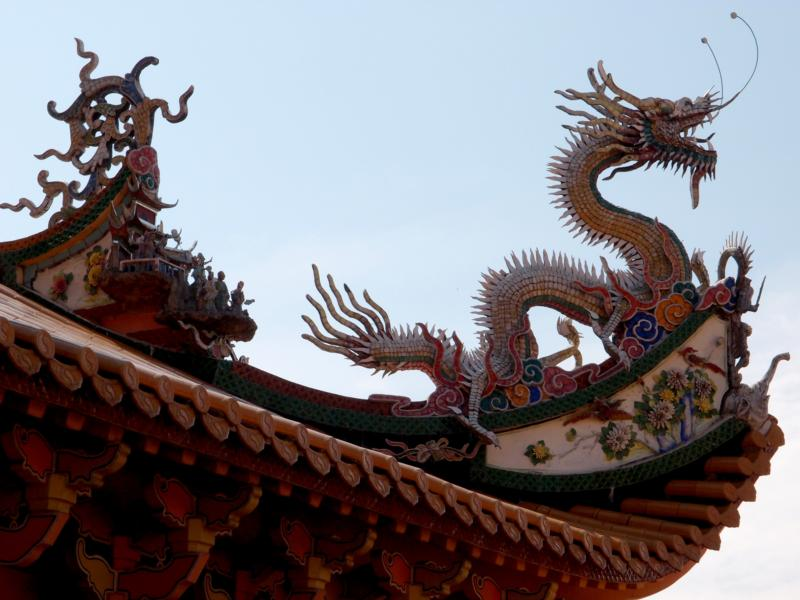 Naga on Roof