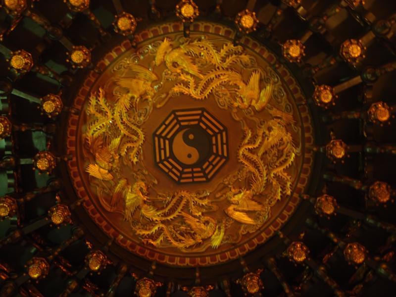 Yin-Yang Roof Decoration