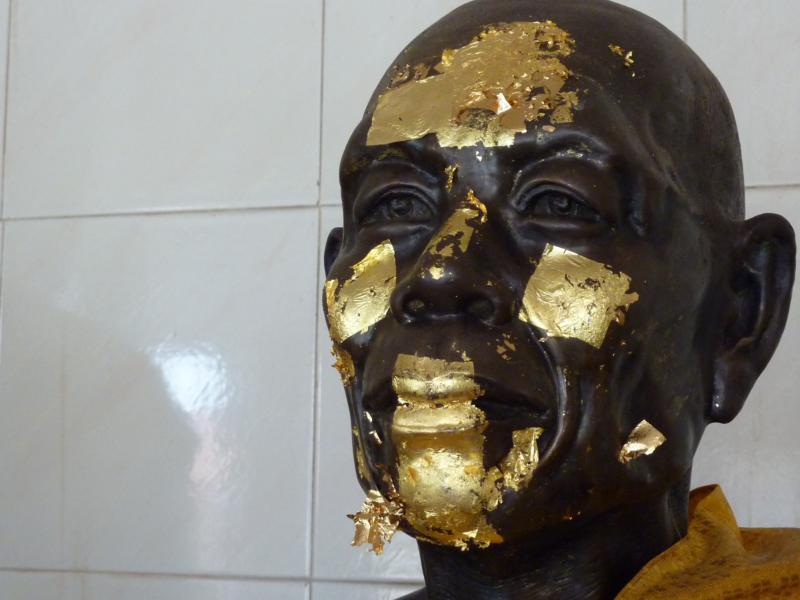 Gold Plastered Luangpor