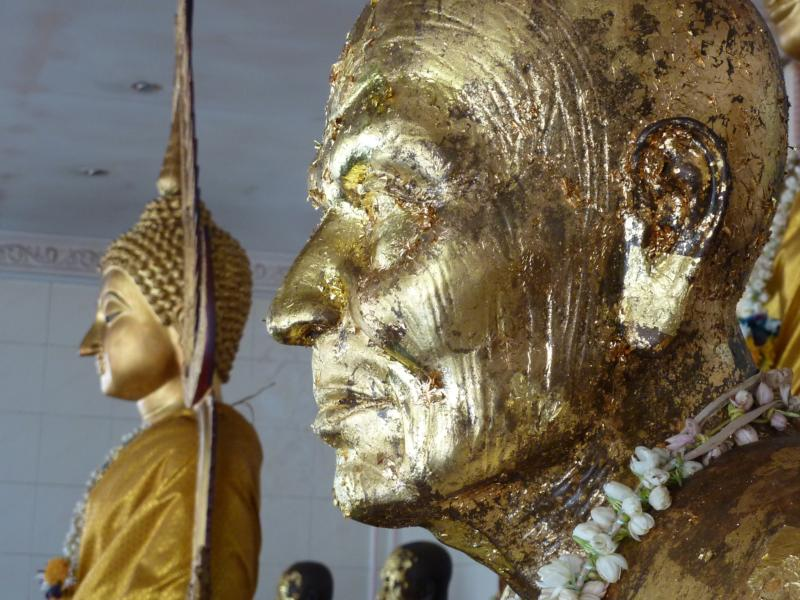 Luangpor and Buddha