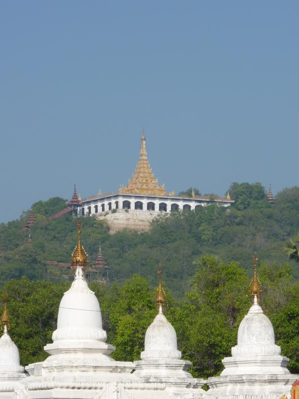 View of Mandalay Hill