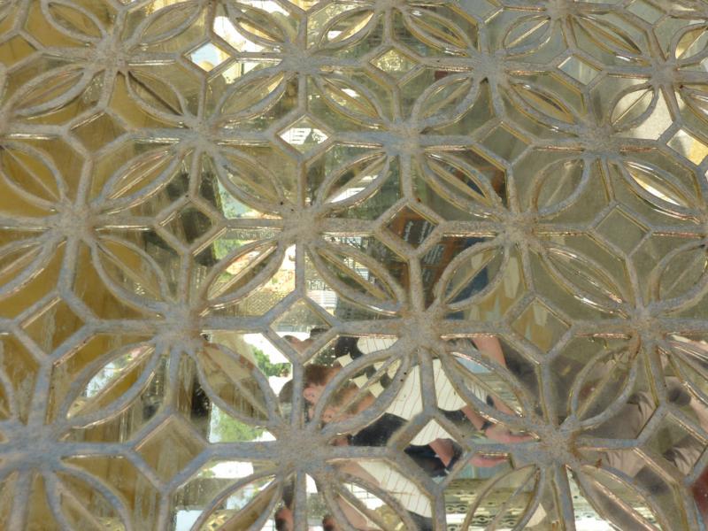 Pedestal Decorative Glass Vase Bowl Blow Case