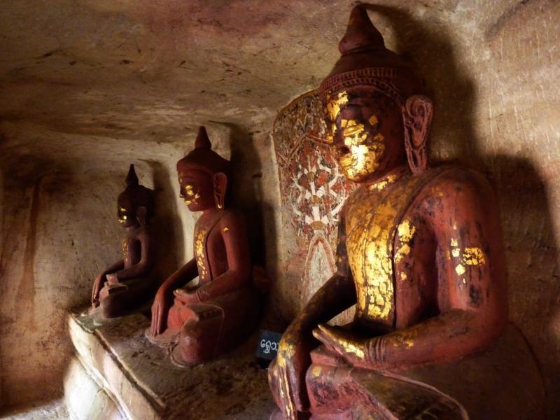 Gold Leaf Buddhas