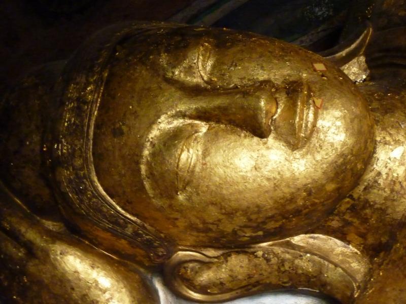 Parinibbana Buddha Face