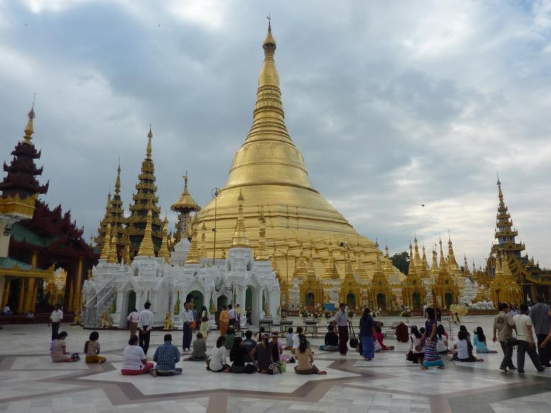 Southern Entrance and Pagoda