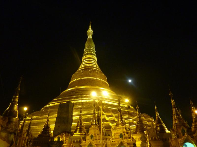 Night View of the Pagoda