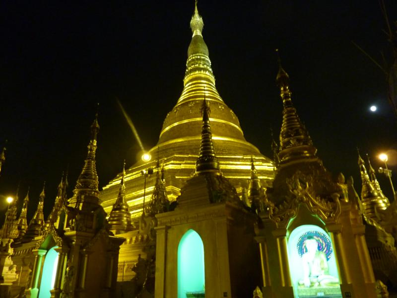 Shrines and Pagoda