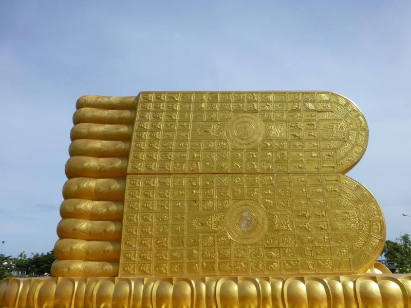 Reclining Buddha Siripada