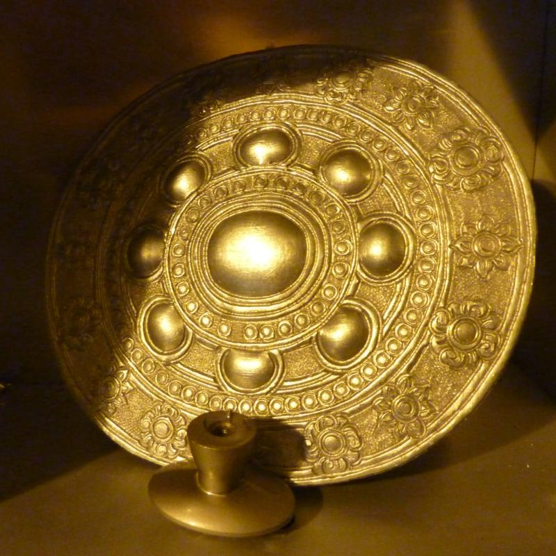 Silver Plate in Golden Light