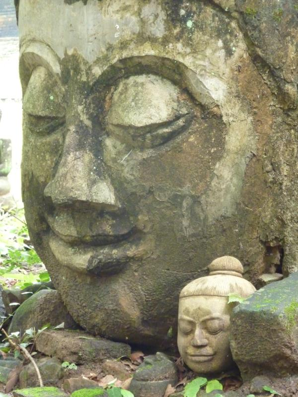 Buddha Statues in Park