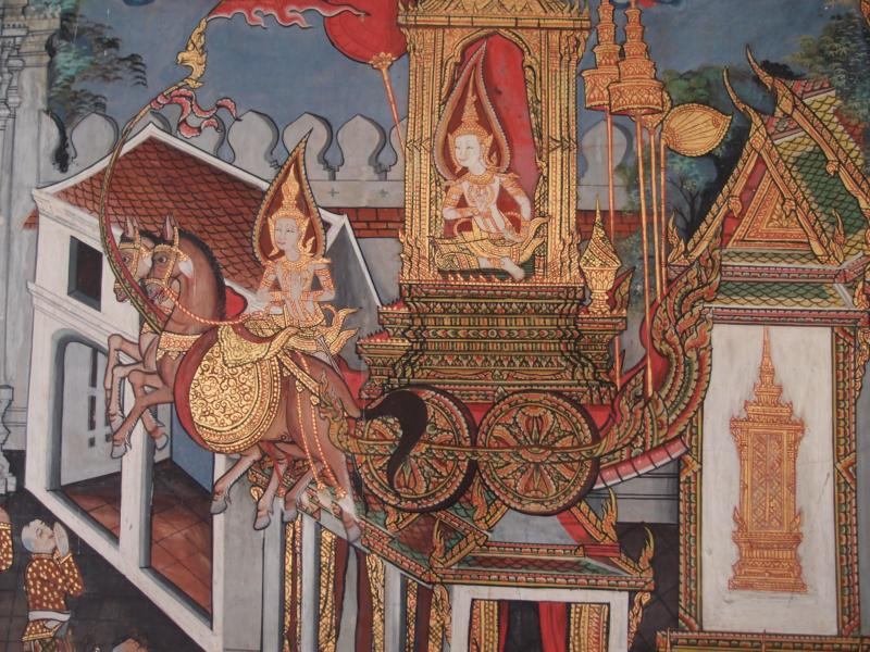 Bodhisatta as Candakumara, the honorable prince